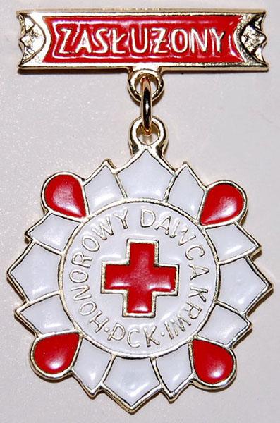 Odznaka Zasłużony Honorowy Dawca Krwi 2 stopnia