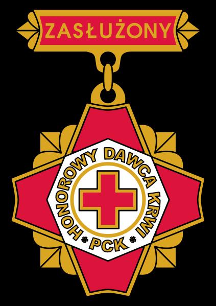 Zasluzony Honorowy Dawca Krwi 3 stopnia