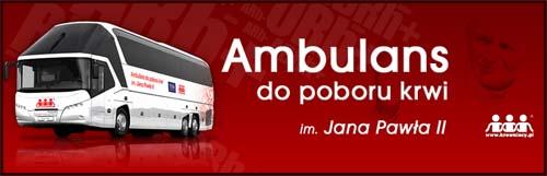 Autobus do poboru krwi im. Jana Pawła II