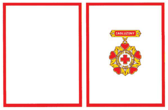 Odznaka Zasłużony Honorowy Dawca Krwi 1 stopnia