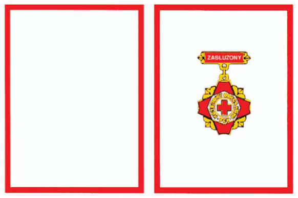 Odznaka Zasłużony Honorowy Dawca Krwi 3 stopnia