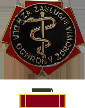 Odznaka honorowa Za zasługi dla ochrony zdrowia