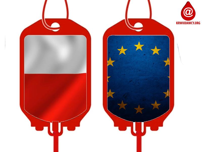 Czy można wliczyć krew oddaną honorowo za granicami Polski?