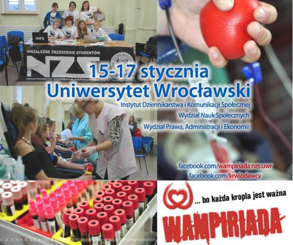 Wampiriada na Uniwersytecie Wrocławskim