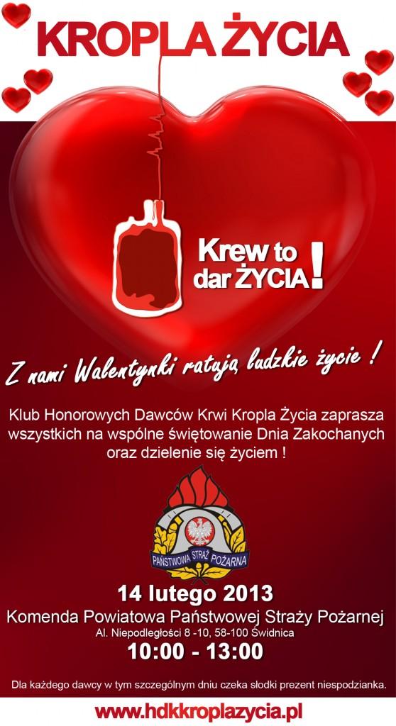 Walentykowa akcja poboru krwi
