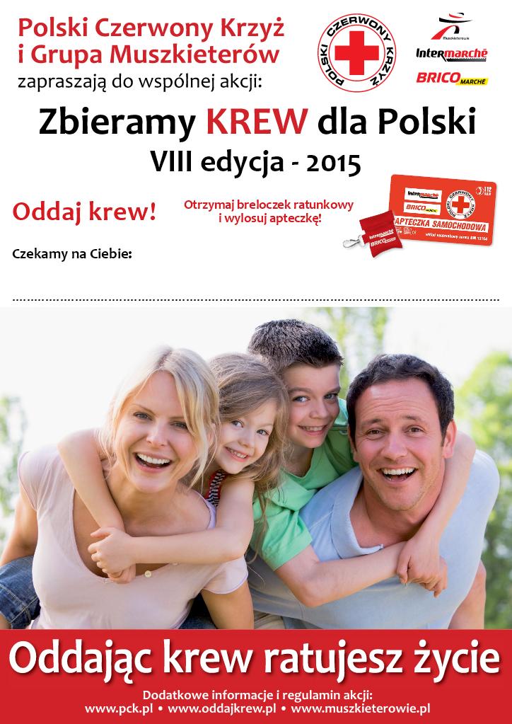 Zbieramy krew dla Polski - Muszkieterowie