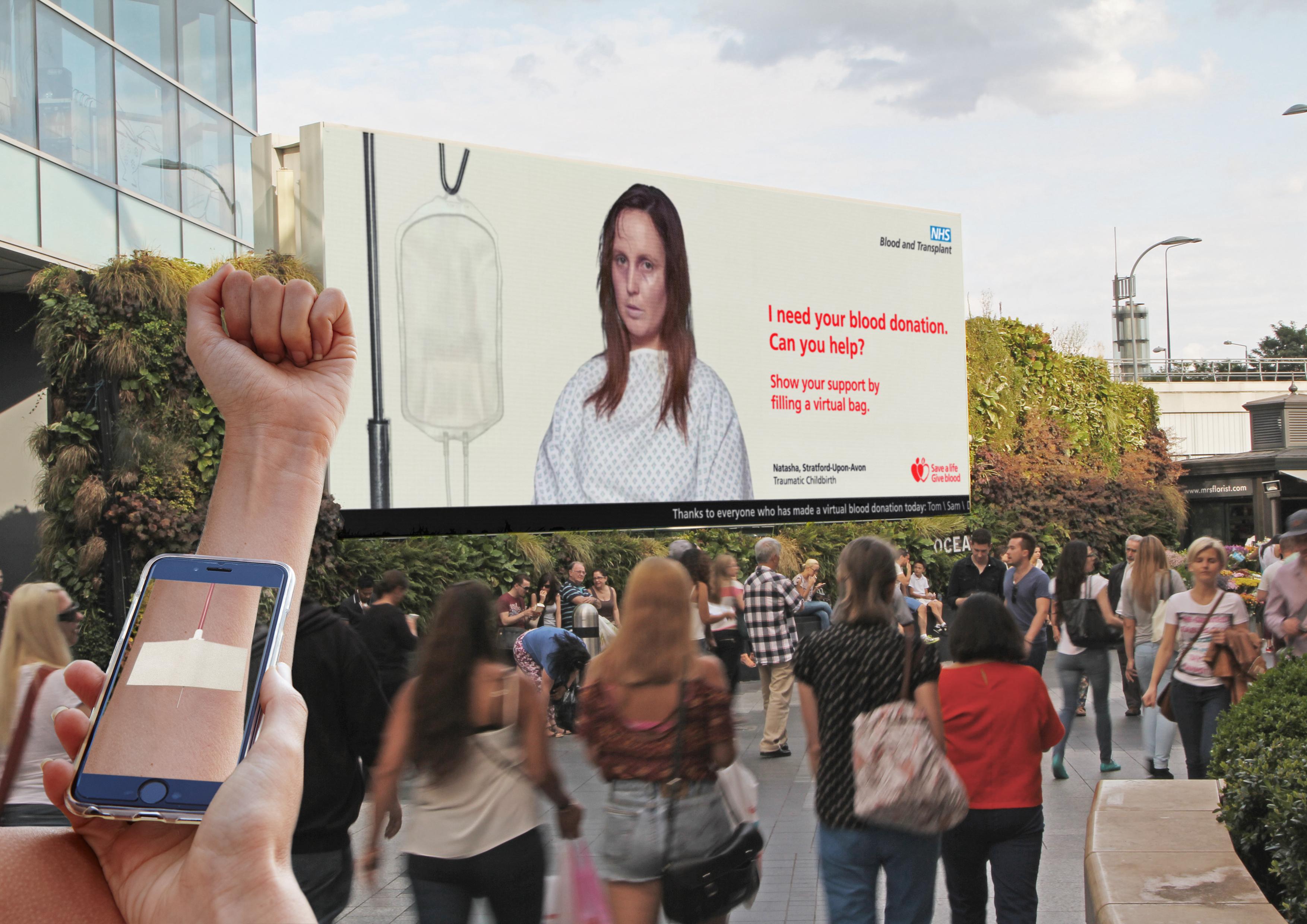 Kampania angielskiej publicznej służby krwi
