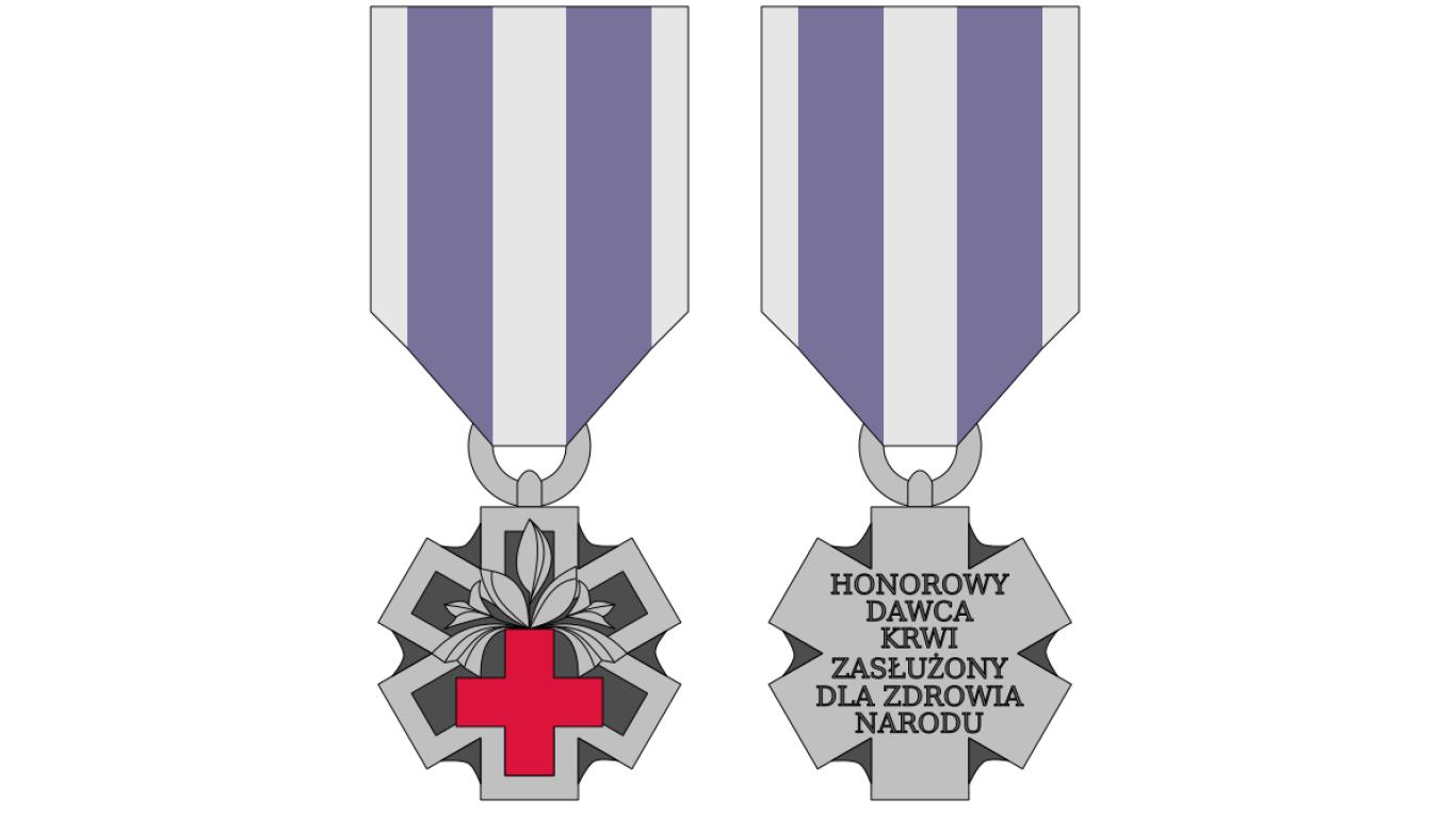 Honorowy Dawca Krwi-Zasłużony dla Zdrowia Narodu
